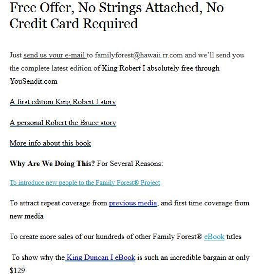 Free Genealogy Resource PDF ~ King Robert I & The LAKEY