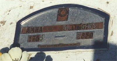 "Amelia ""Anna"" HIGHTOWER SCOGGINS 1765 ~ 1850"
