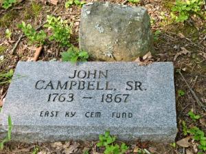 John Campbell Sr Tombstone